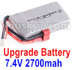 FeiYue FY-11 Parts- Upgrade 7.4V 2700mah Battery(1pcs)-Size-80X40X16MM-Weight-115.4g