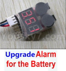 HG P601 Parts-91-04 Upgrade Alarm for the Battery,Can test whether your battery has enouth power