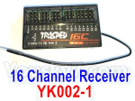 HG P602 Parts- YK002-1 Receiver,16 cHANNEL Receiver board