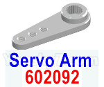 HG P602 Parts-Servo Arm,Servo Swing Arm-602092