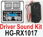 HG P602 Parts-Driver Sound Kit-HG-RX1017