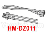 HG P602 Parts-Double-head T-shaped plug (male and female plug)-HM-DZ011