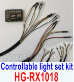 HG P602 Parts-Controllable light set kit-HG-RX1018