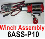 HG P602 Parts- Winch assembly-6ASS-P10