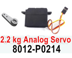 HG P602 Parts-2.2 kg Analog Servo-8012-P0214