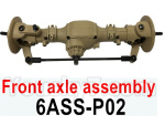HG P602 Parts-Front axle assembly-6ASS-P02
