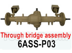 HG P602 Parts-Through bridge assembly-6ASS-P03