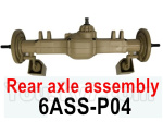HG P602 Parts-Rear axle assembly-6ASS-P04