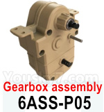 HG P602 Parts-Gearbox assembly-6ASS-P05