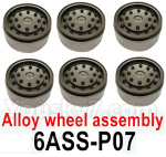 HG P602 Parts-Alloy wheel assembly-6 Set-6ASS-P07