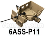 HG P602 Parts-Body compartment assembly-6ASS-P11
