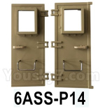 HG P602 Parts-Rear Door assembly,Left and Right-6ASS-P14