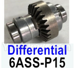 HG P602 Parts-Differential-6ASS-P15