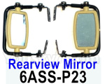 HG P602 Parts-Rearview mirror assembly,Left and Right-6ASS-P23