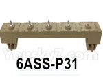 HG P602 Parts-Rear antenna base assembly-6ASS-P31
