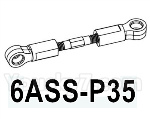 HG P602 Parts- Swing arm Rod,Swing arm link Rod-6ASS-P35