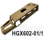 HG P602 Parts- Car surface Cover Parts-HGX602-01/1