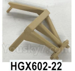 HG P602 Parts- Searchlight bracket,HGX602-22