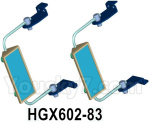 HG P602 Parts- Rearview mirror assembly,HGX602-83,Total 2 set
