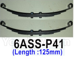 HG P602 Parts- Cushioning steel plate assembly 1 (Length:125mm),2pcs, 6ASS-P41