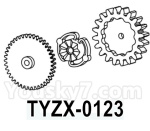 HG P602 Parts- Clutch gear set-TYZX-0123