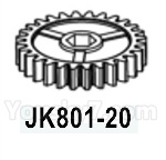 HG P602 Parts- Secondary gear-JK801-20