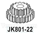 HG P602 Parts- Transmission gear-JK801-22