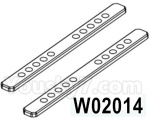 HG P602 Parts- Multi-wheel expansion reinforcement Rod-2pcs-W02014