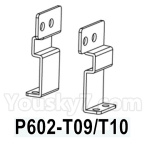 HG P602 Parts- Foot pedal positioning piece-Left and Right-2pcs-P602-T09/T10