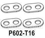 HG P602 Parts- Front leaf spring-P602-T16,Total 4pcs