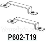 HG P602 Parts- Armrest in fort-P602-T19,Total 2pcs