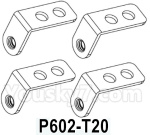 HG P602 Parts- Mounting rearview mirror fixing plate-P602-T20,Total 4pcs