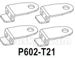 HG P602 Parts- Fixing piece for door mirror-P602-T21,Total 4pcs