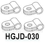 HG P602 Parts- Rearview mirror fixing clip-HGJD-030,Total 4pcs