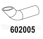 HG P602 Parts- Elbow (exhaust pipe)-602005