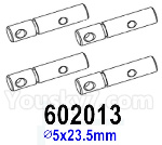 HG P602 Parts- Drive shaft-602013,Total 4pcs,∅5x23.5mm