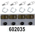 HG P602 Parts- Box cover pin-602035-Total 4 set
