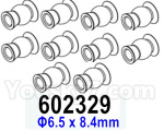 HG P602 Parts- Ball Head-602329,Total 10pcs,Φ6.5x8.4mm