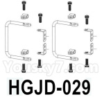 HG P602 Parts- Rearview mirror holder-HGJD-029,Total 2 Set