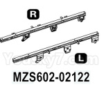 HG P602 Parts- Rear beam-MZS602-02122,Left and Right,Total 2pcs