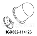 HG P602 Parts- Warning Light-HGX602-114126