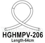 HG P602 Parts- PVC transparent tube-HGHMPV-206,Length-64cm