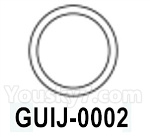 HG P602 Parts- Engine silicone ring B-GUIJ-0002