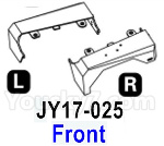 HG P602 Parts- Front fender-JY17-025-Total 2pcs