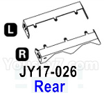 HG P602 Parts- Rear fender-JY17-026,Total 2pcs