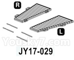 HG P602 Parts- Hood-JY17-029,Total 2pcs