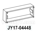 HG P602 Parts- Side window assembly-JY17-04448