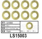 HG P602 Parts- LS15003,Copper Gasket,Total 8pcs,Φ5.1x7x0.4mm