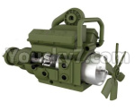 HG P801 P802 Parts-03-01 8ASS-P0003 Transmission gearbox assembly-Green
