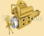 HG P801 P802 Parts-03-02 8ASS-P0003-Yellow-Transmission gearbox assembly-Yellow